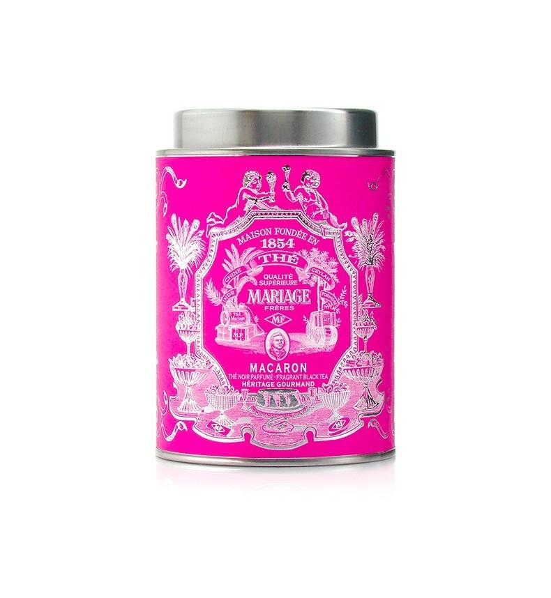 Mariage Freres - Héritage Gourmand – Thé noir MACARON