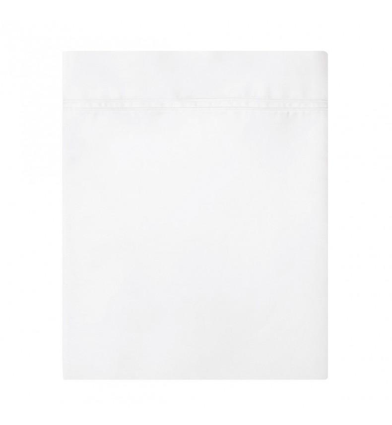 Yves Delorme - Triomphe Blanc Flat Sheet