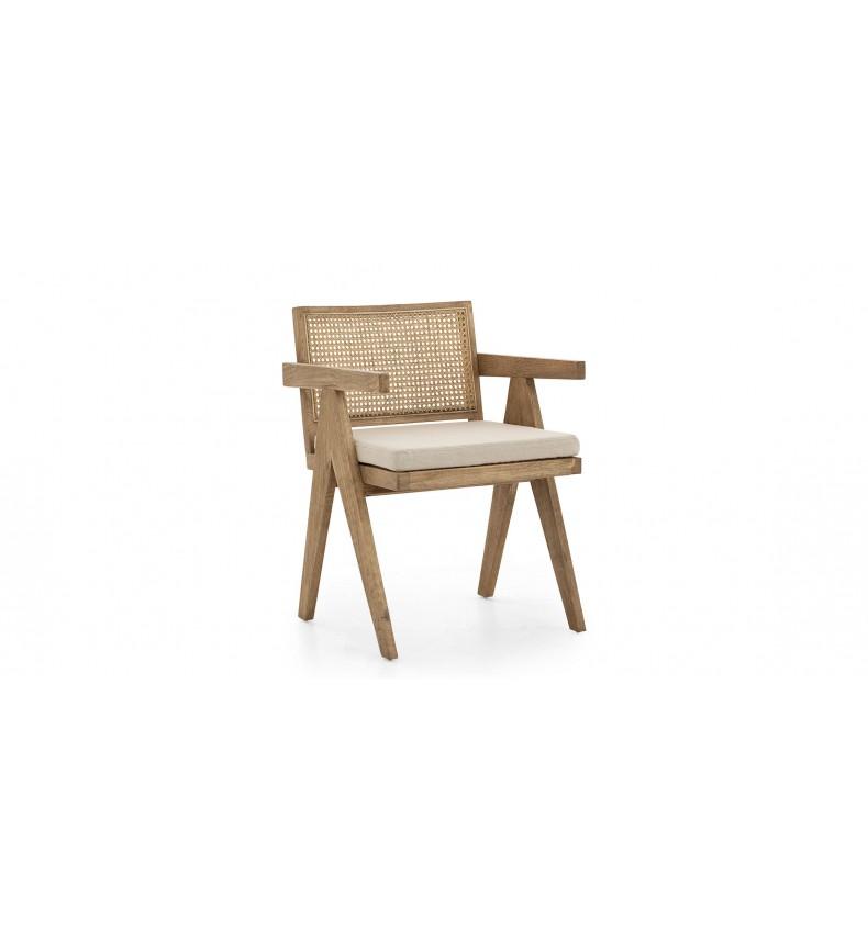 Židle Bruno s polštářem