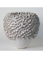 Kameninová váza - bílá