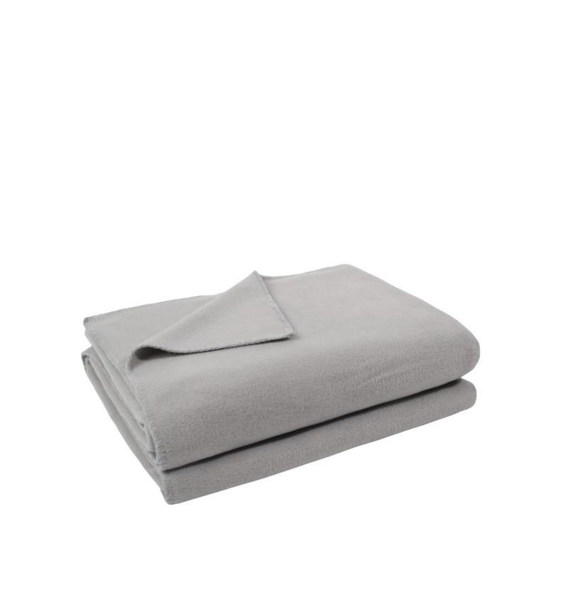 Deka Zoeppritz Soft-Fleece 180x220 light grey