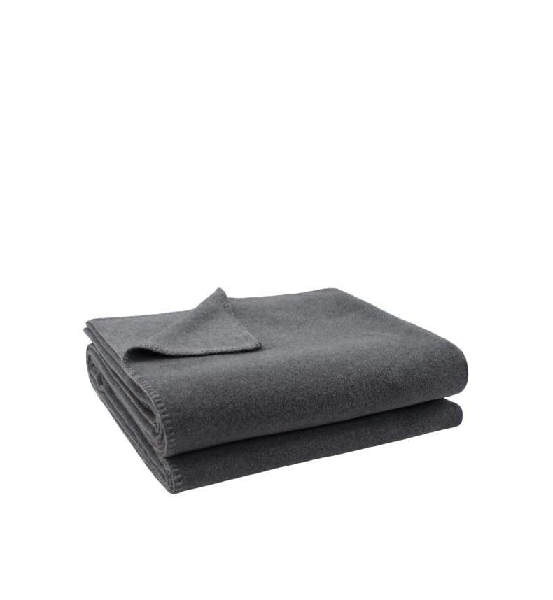 Deka Zoeppritz Soft-Fleece 180x220 medium grey