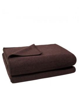 Deka Zoeppritz Soft-Fleece 180x220 dark brown