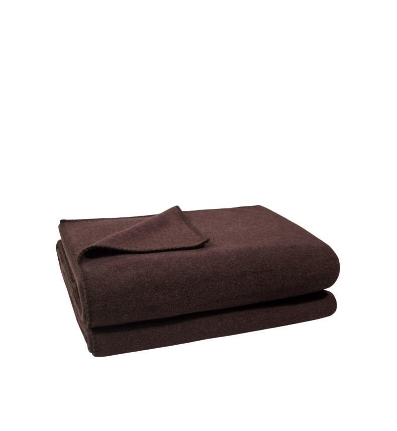 Deka Zoeppritz Soft-Fleece 220x240 dark brown